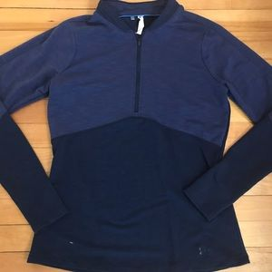 Women's size small half zip Under Armour pullover